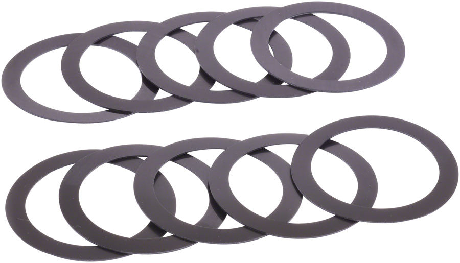Wheels Manufacturing 29mm ID x 0.5mm Crank Spindle Spacer For SRAM DUB - 10 Pack
