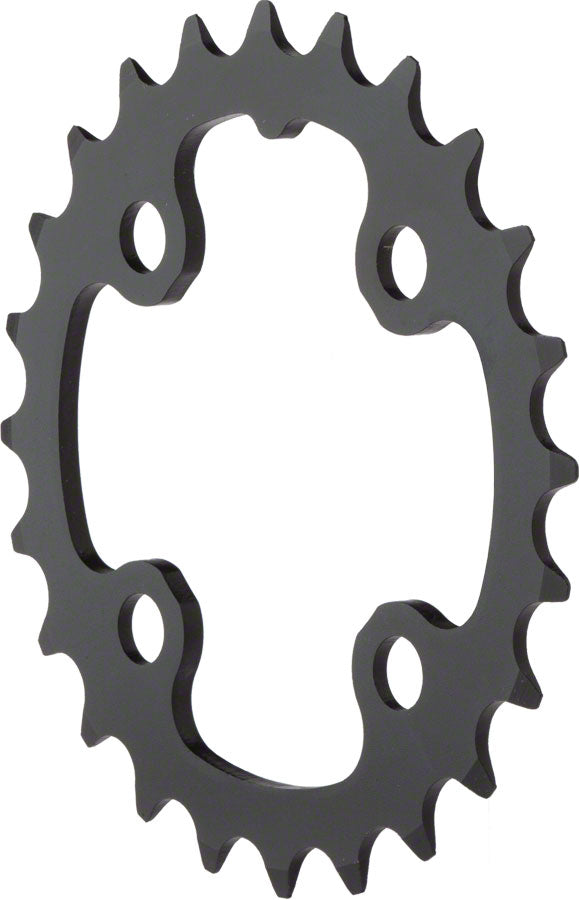 TruVativ/SRAM 24T x 64mm 9 Speed/ 2x10 Chainring Black Alloy MPN: 11.6215.093.000 UPC: 710845413834 Chainring Trushift