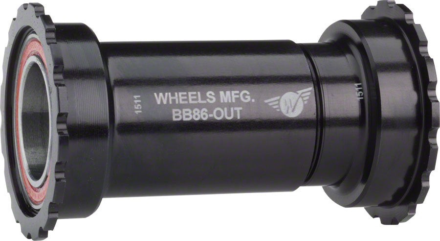 Wheels Manufacturing BB86//92 ABEC-3 Threaded Bottom Bracket Black SRAM GXP
