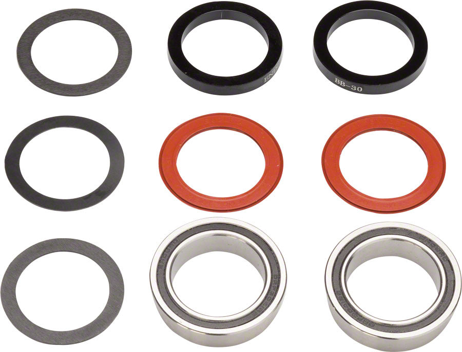 Enduro BB92 to 30mm Stainless Steel Bottom Bracket kit