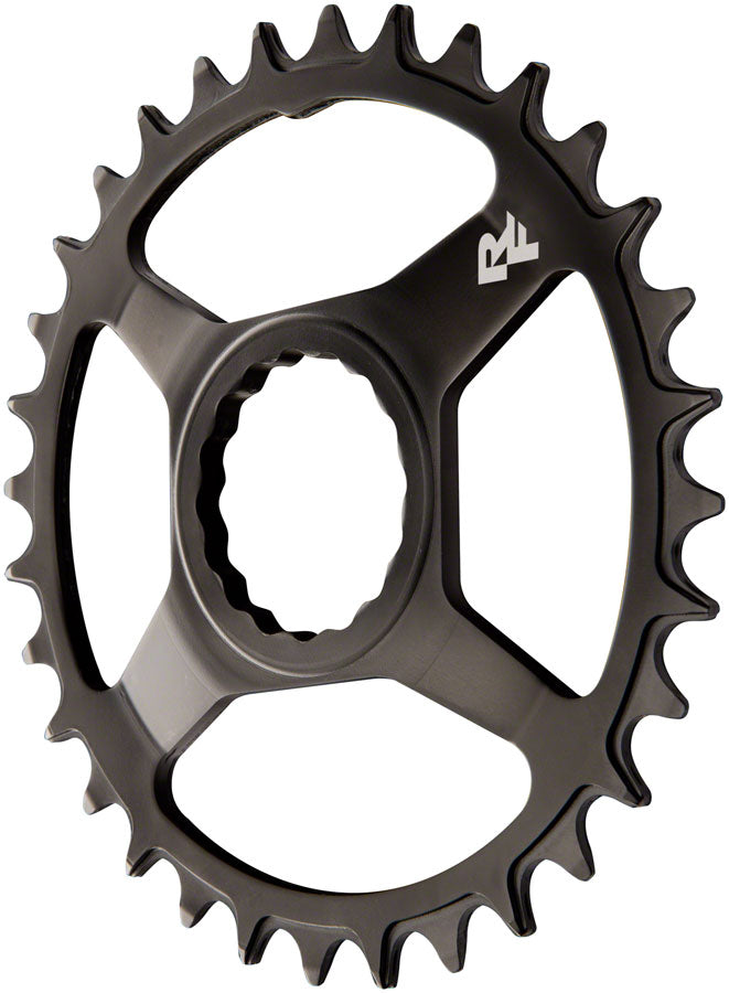 RaceFace Narrow Wide Chainring: Direct Mount CINCH, 32t, Steel, Black