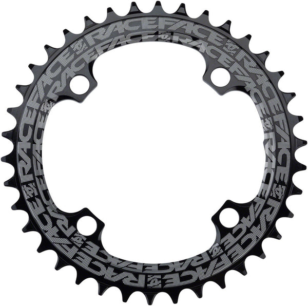 Black Race Face Narrow Wide Single Chainring 10-12 Speed 104mm