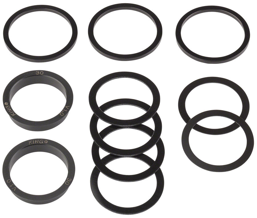 Chris King ThreadFit 30 Bottom Bracket Conversion Kit #3 MPN: PBB083 UPC: 841529101072 Cup Conversion Kit 30mm ThreadFit Conversion Kit