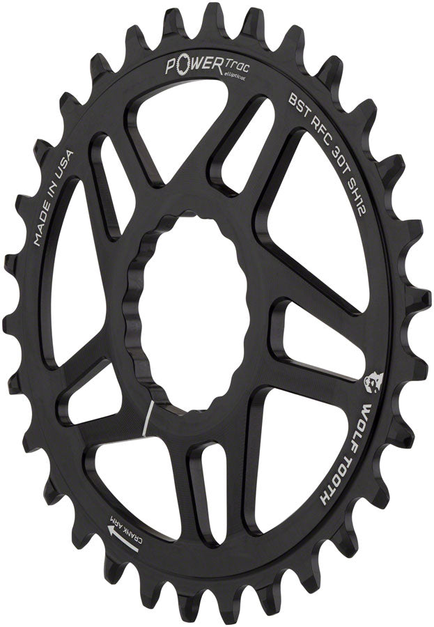Wolf Tooth Direct Mount Race Face Cinch Shimano Hyperglide Chainring 32t 12s