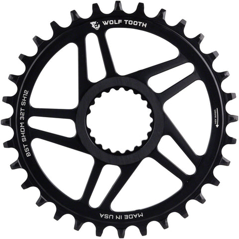 For Shimano M985 Wolftooth BCD 88 x 4 Bolts Inner Bicycle Chainring Black
