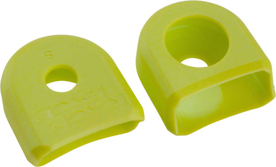 Race Face Small Crank Boots, 2-Pack Yellow