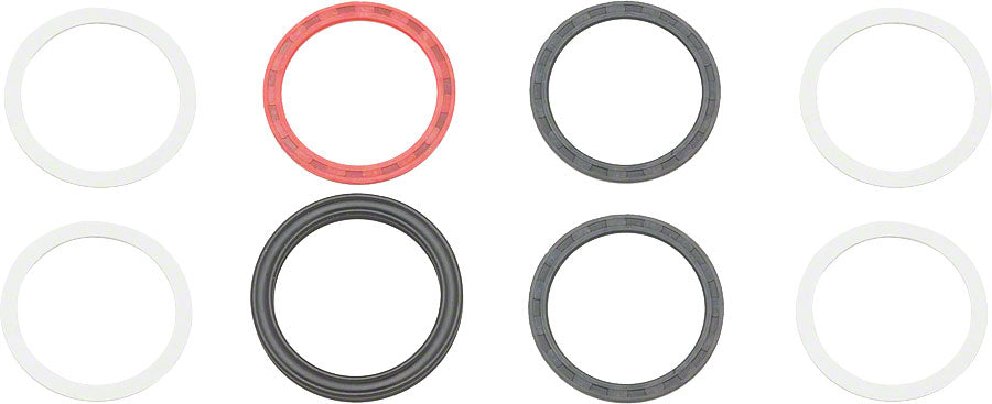 RaceFace X-Type Spindle Spacer Kit  FR/DH Cranks MPN: A20111 UPC: 821973098821 Small Part X-Type Spindle Spacer Kit