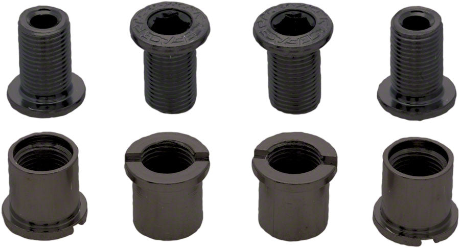RaceFace Chainring Bolt Pack Set of 4 12.5mm Bolt/Nut Black