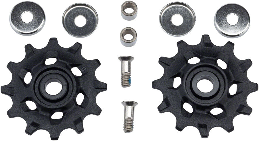 SRAM X-Sync Pulley Assembly, Fits NX1, Apex 1 11-Speed Derailleurs MPN: 11.7518.072.000 UPC: 710845783449 Pulley Assembly Pulley Assemblies