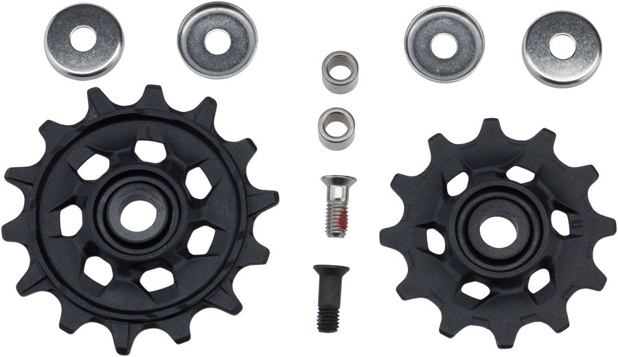 SRAM X-Sync Pulley Assembly, Fits NX Eagle 12-Speed Derailleurs MPN: 11.7518.090.000 UPC: 710845820359 Pulley Assembly Pulley Assemblies