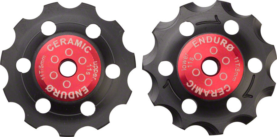 Enduro ZERO Derailleur Pulleys for Shimano 11-speed MPN: BKCJ-0195 UPC: 811780021020 Pulley Assembly Zero