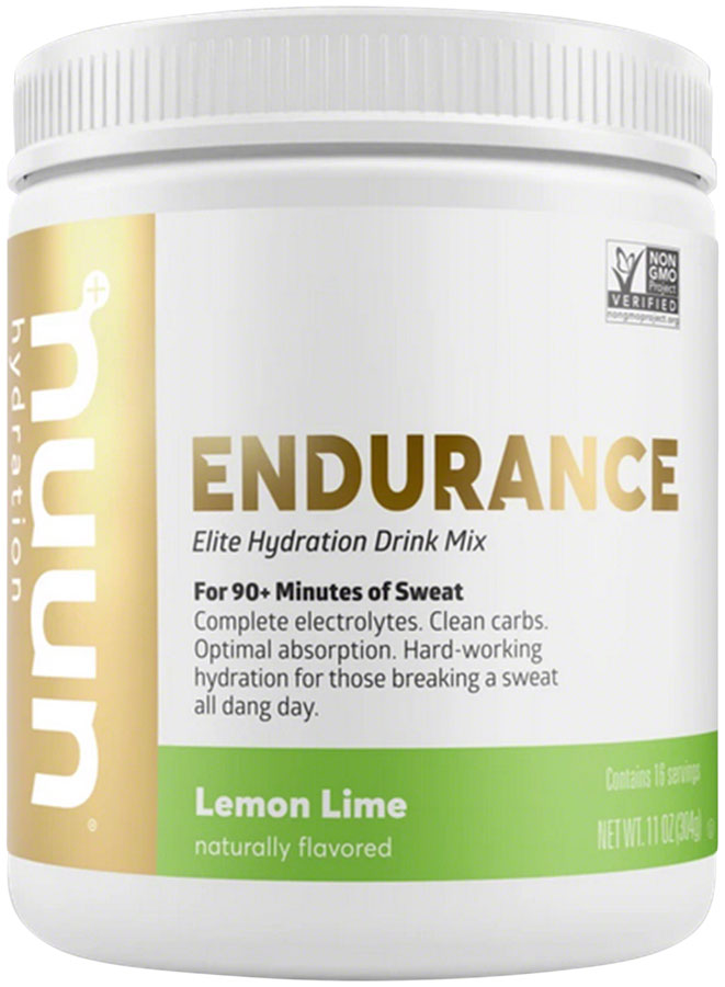 Nuun Endurance Hydration Drink Mix - Lemon Lime, 16 Serving Canister