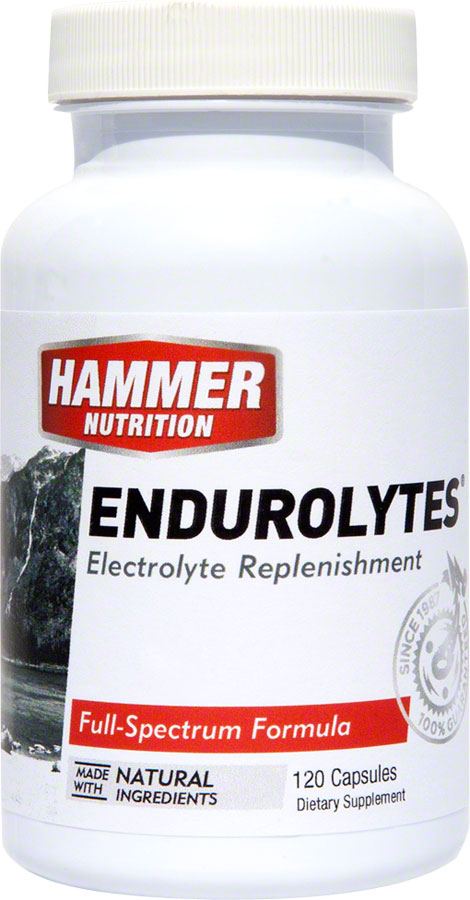 Hammer Endurolytes: Bottle of 120 Capsules MPN: EL UPC: 602059120991 Supplement and Mineral Endurolyte Capsules