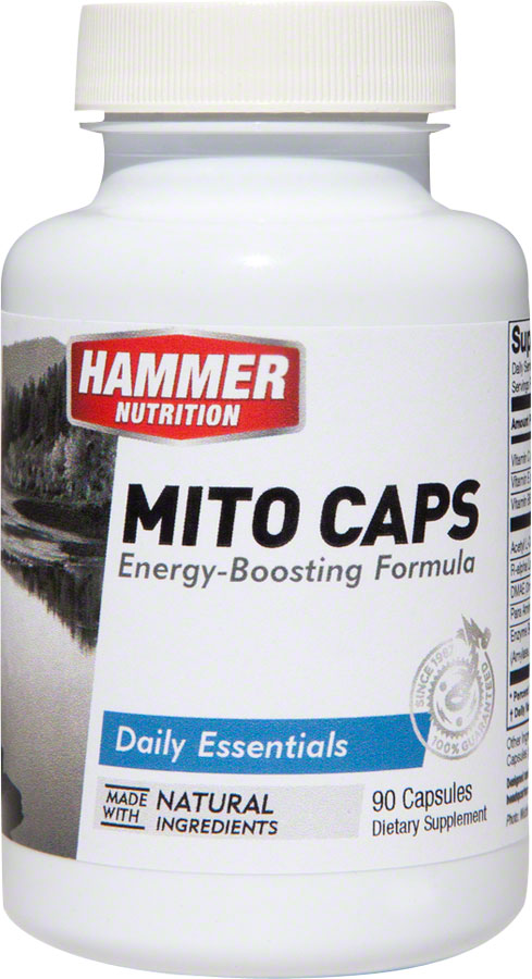 Hammer Mito Caps: Bottle of 90 Capsules MPN: MC UPC: 602059513908 Supplement and Mineral Mito Caps