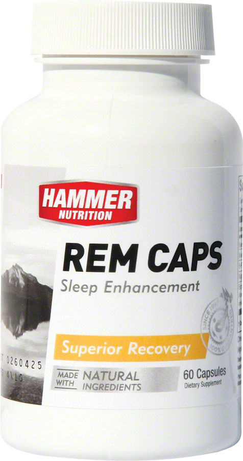Hammer REM Caps: Bottle of 60 Capsules MPN: REM UPC: 602059523600 Supplement and Mineral REM Capsules