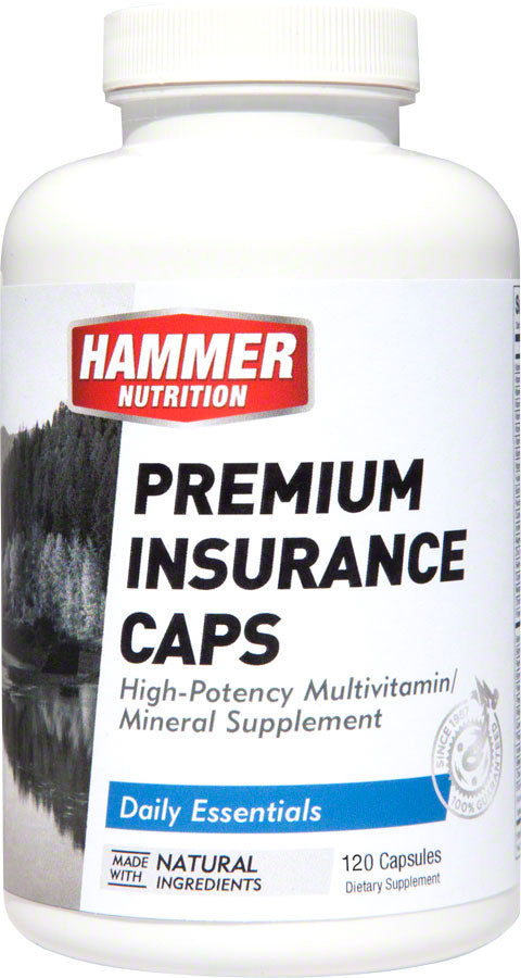 Hammer Premium Insurance Caps: Bottle of 120 Capsules