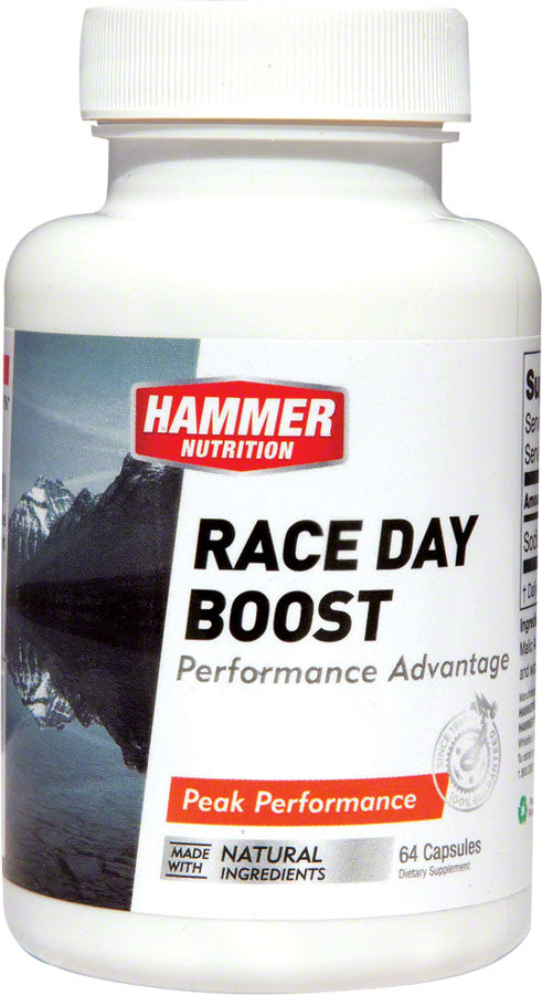 Hammer Race Day Boost: Bottle of 64 Capsules MPN: RDBC UPC: 602059548641 Supplement and Mineral Race Day Boost