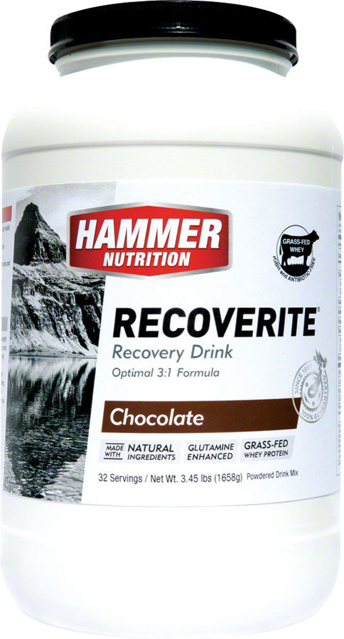 Hammer Recoverite: Chocolate 32 Servings MPN: RRC32 UPC: 602059327000 Recovery Recoverite