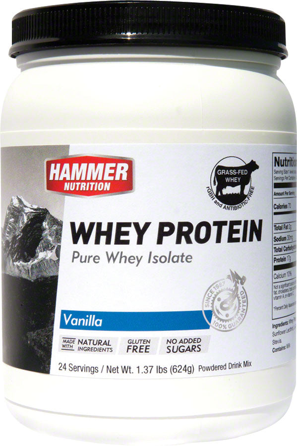 Hammer Whey: Vanilla 24 Servings