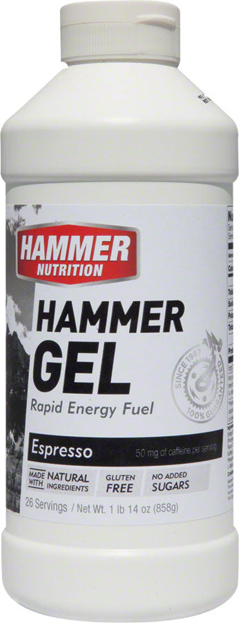 Hammer Gel: Espresso (with caffiene) 20oz