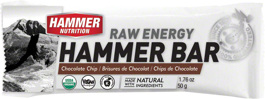 Hammer Bar: Chocolate Chip Box of 12 MPN: FBCB UPC: 602059412515 Bars Hammer Bar