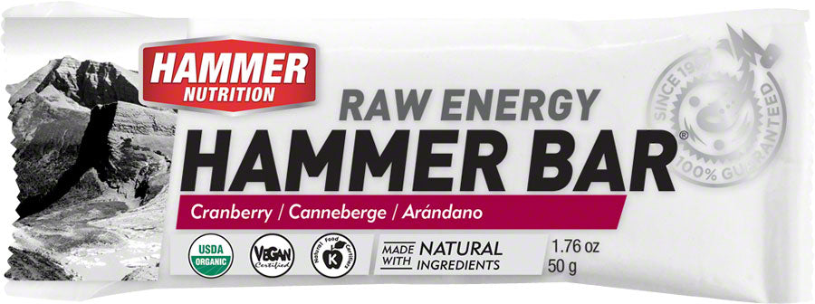Hammer Bar: Cranberry Box of 12 MPN: FBBB UPC: 602059412539 Bars Hammer Bar