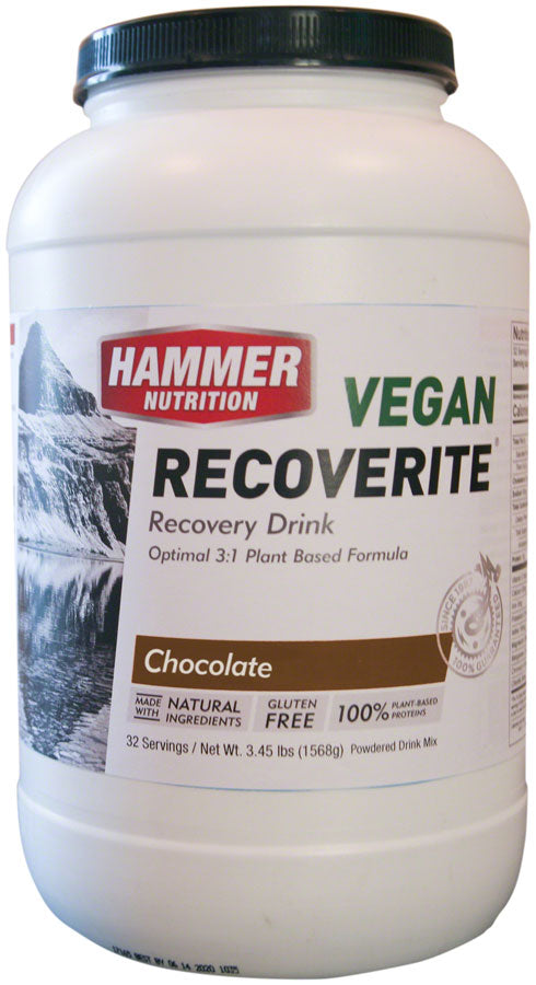 Hammer Vegan Recoverite Drink Mix: Chocolate 32 Servings