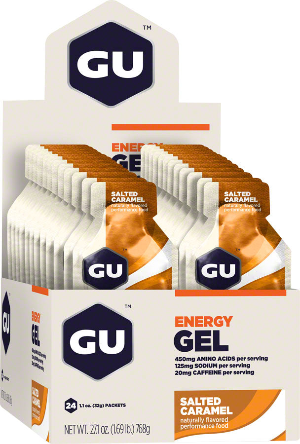 GU Energy Gel: Salted Caramel, Box of 24