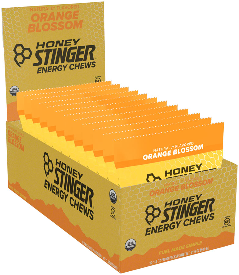 Honey Stinger Organic Energy Chews: Orange, Box of 12 MPN: 72319 UPC: 810815021011 Chew Organic Energy Chews