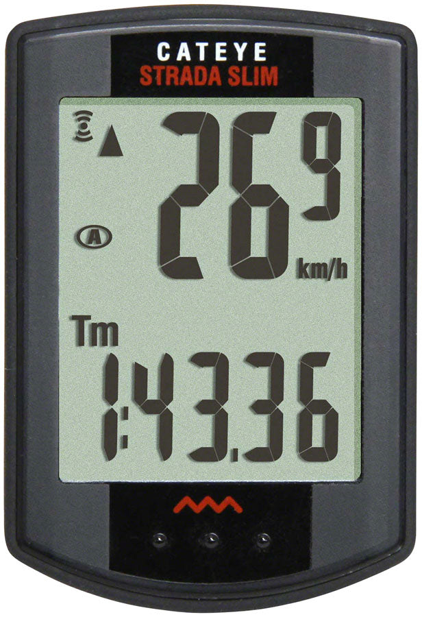CatEye Strada Bike Computer - Wireless, Black