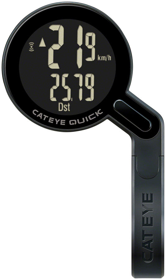 CatEye Quick Bike Computer - Wireless, Black