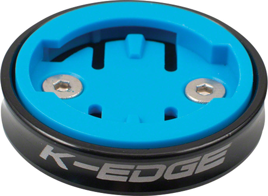 K-EDGE Wahoo Gravity Stem Cap Mount for Wahoo Bolt and Wahoo ELEMNT computers: Black MPN: K13-550W-BLK UPC: 857710005760 Computer Mount Kit/Adapter Wahoo Bolt and ELEMNT Gravity Stem Cap Mount