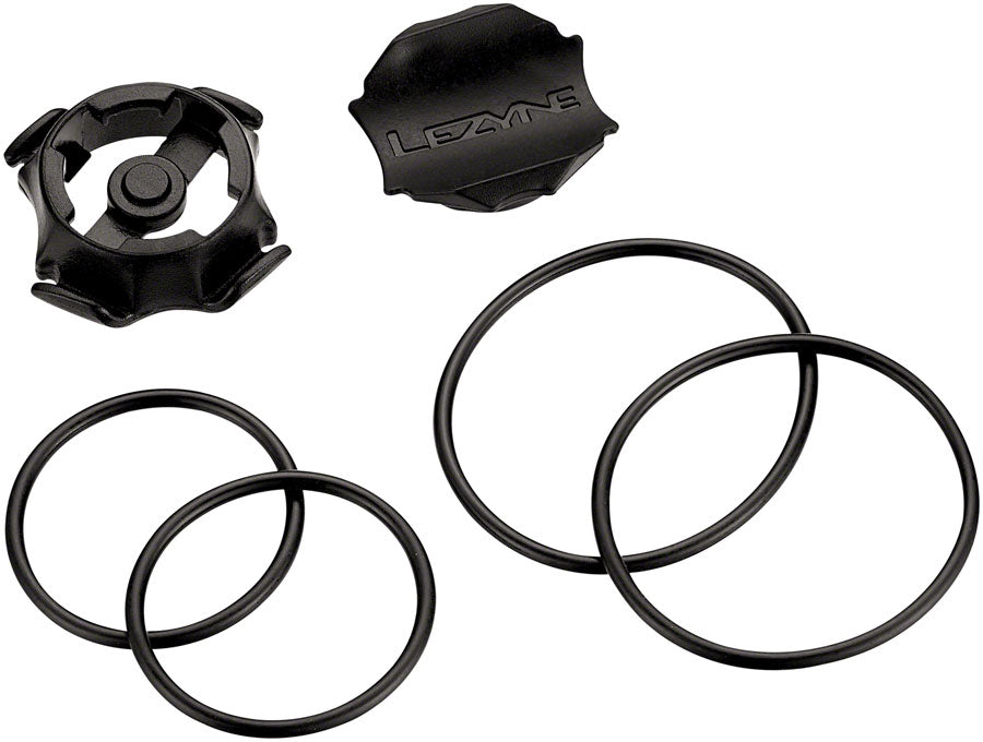 Lezyne GPS Cycling Computer O-Ring Mounting Kit MPN: 1-GPS-ORMCMK-V104 Computer Mount Kit/Adapter GPS Cycling Computer Mount