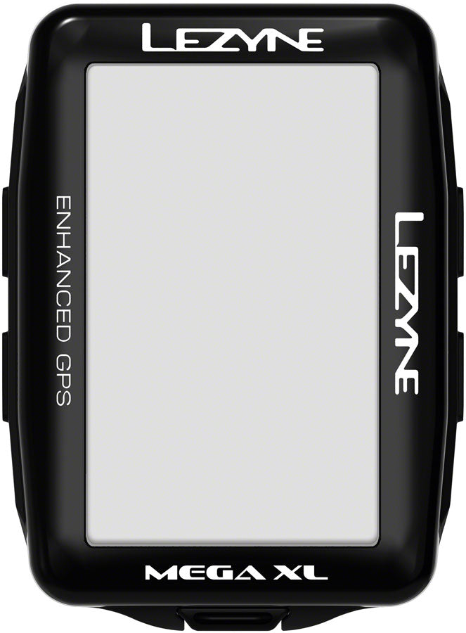 Lezyne Mega XL GPS Bike Computer - GPS, Wireless, Black