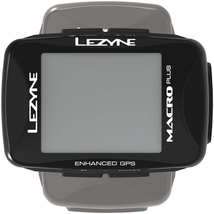 Lezyne Macro Plus GPS Bike Computer - GPS, Wireless, Black