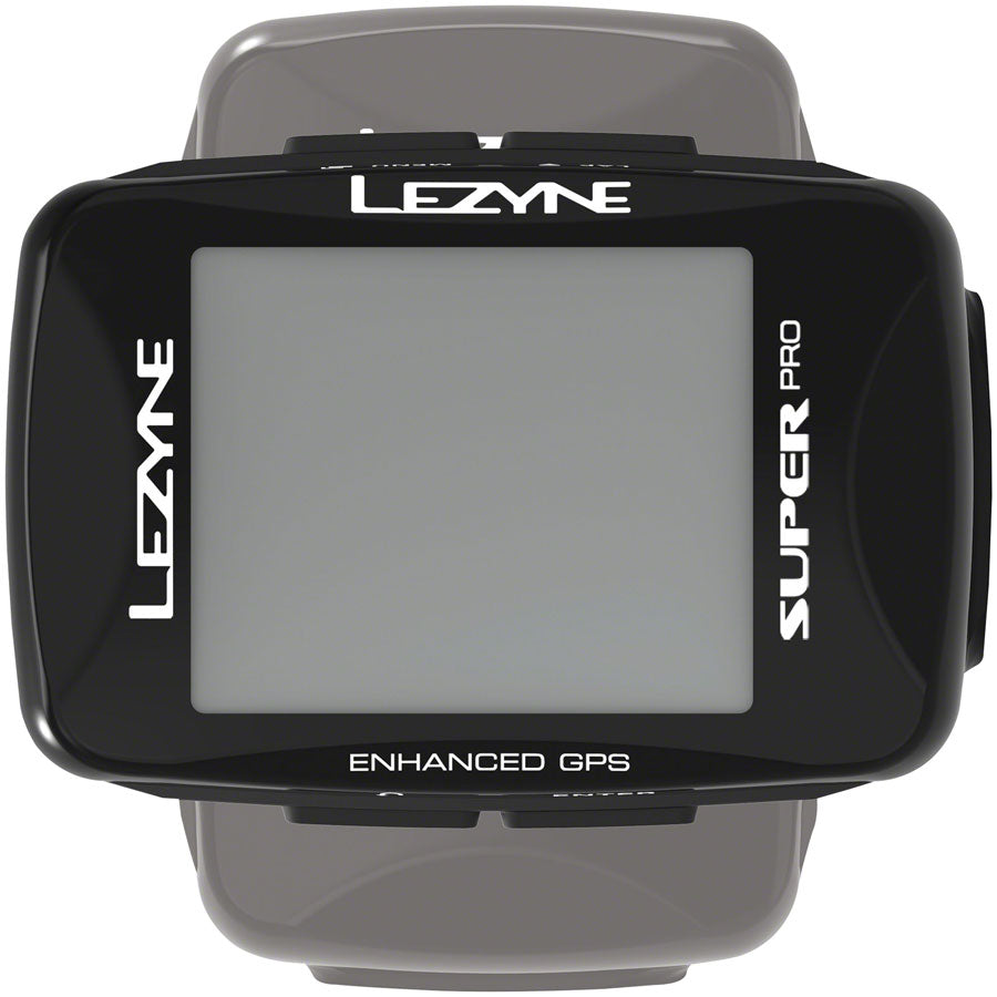 Lezyne Super Pro GPS Bike Computer - GPS, Wireless, Black