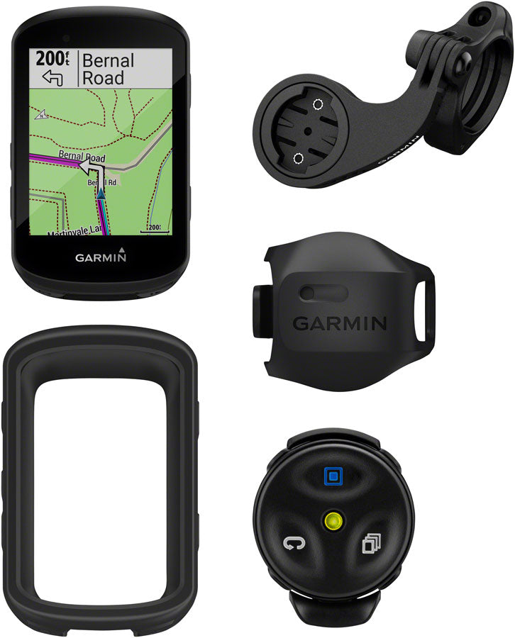 Garmin Edge 530 Mountain Bike Bundle Bike Computer - GPS, Wireless, Black