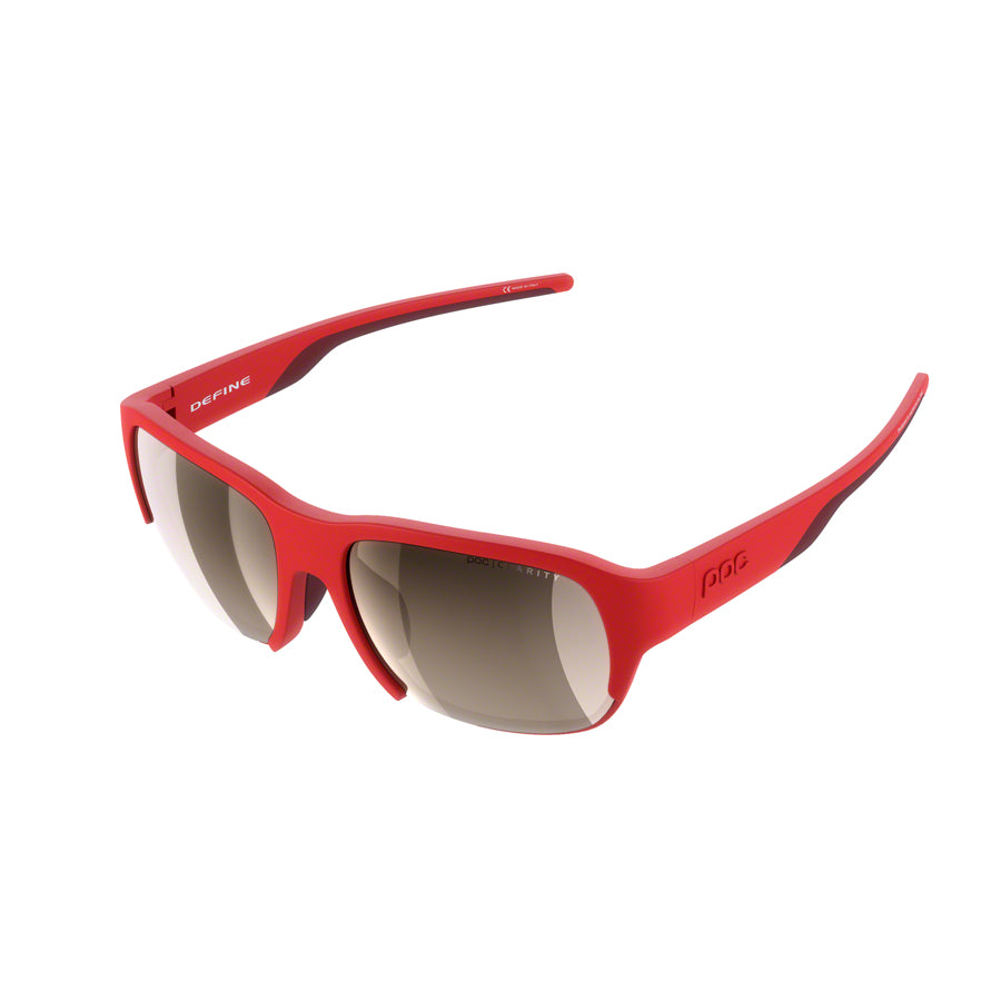 POC Define Sunglasses - Prismane Red, Brown/Silver-Mirror Lens