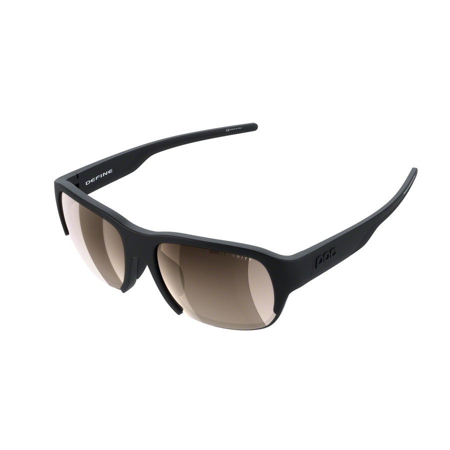 POC Define Sunglasses - Uranium Black, Brown/Silver-Mirror Lens