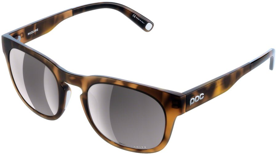 POC Require Sunglasses - Tortoise Brown, Violet/Silver-Mirror Lens