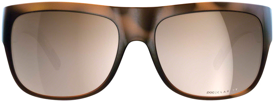 POC Want Sunglasses - Tortoise Brown, Brown/Silver-Mirror Lens - Sunglasses - Want Sunglasses