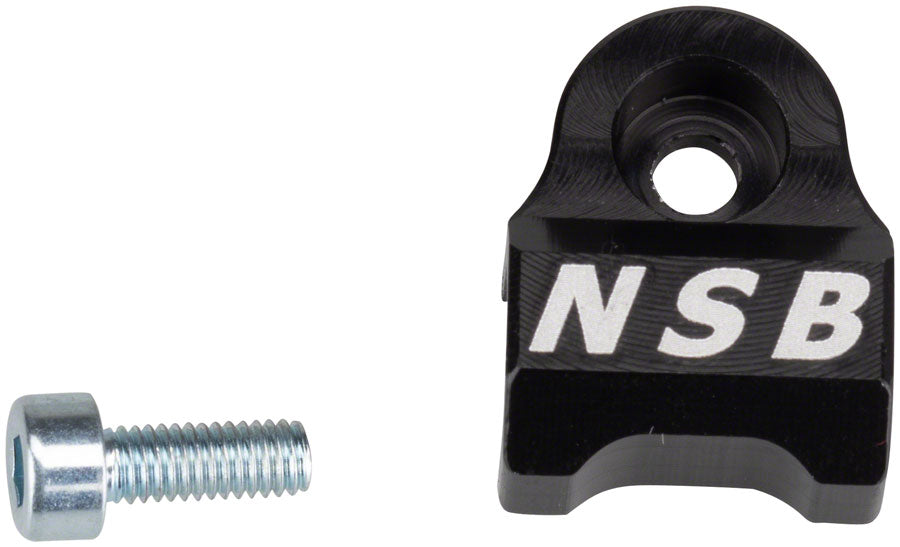 North Shore Billet 2008-2013 Fox 32 & 36 Cable Guide Black MPN: NSB FG0001-B UPC: 824528015014 Housing Guide Fork Cable Guides