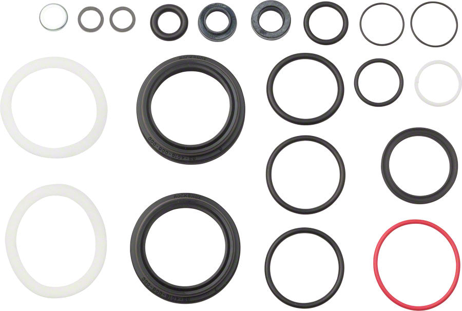 RockShox Fork Service Kit, Basic: dust / O-ring seals foam rings, Pike Solo Air