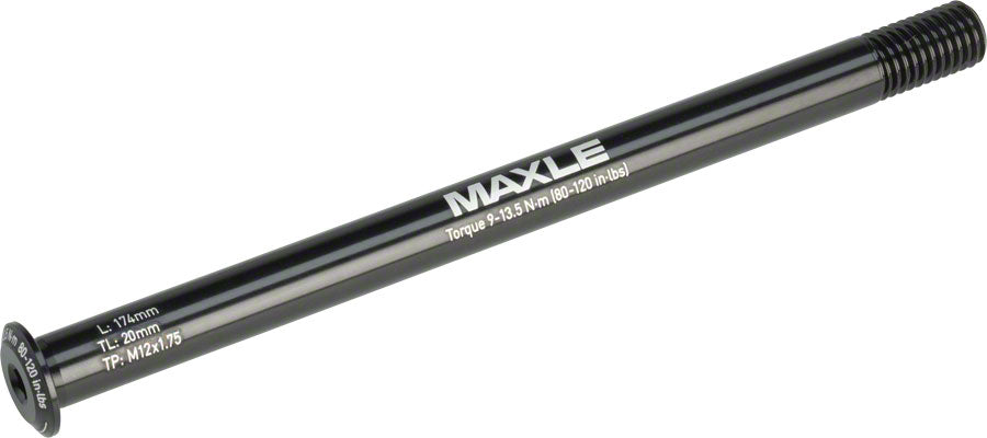 Maxle Stealth Rear Thru Axle: 12x142, 174mm Length, Standard MPN: 00.4318.005.027 UPC: 710845798528 Thru Axle Maxle Stealth Rear