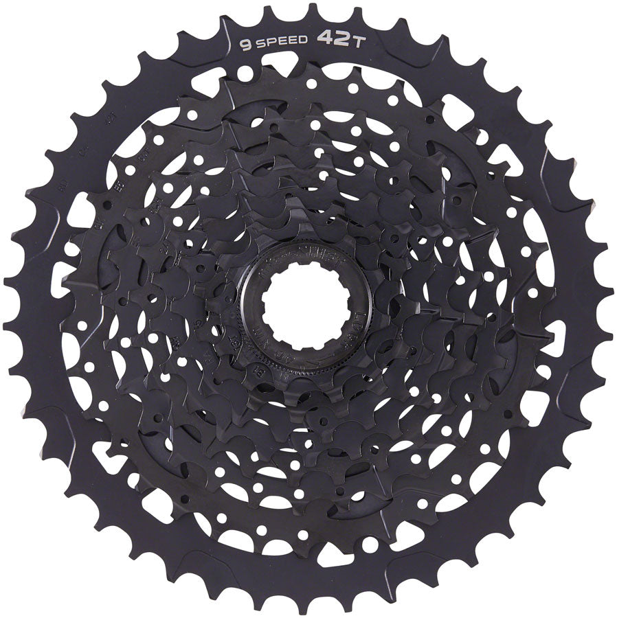 microSHIFT ADVENT Cassette - 9 Speed, 11-42t, Black, ED Coated