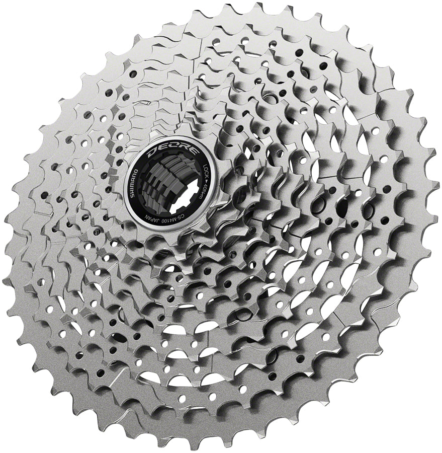 New 2021 Shimano Deore CS M4100 10-speed Cassette 11-42t//46t