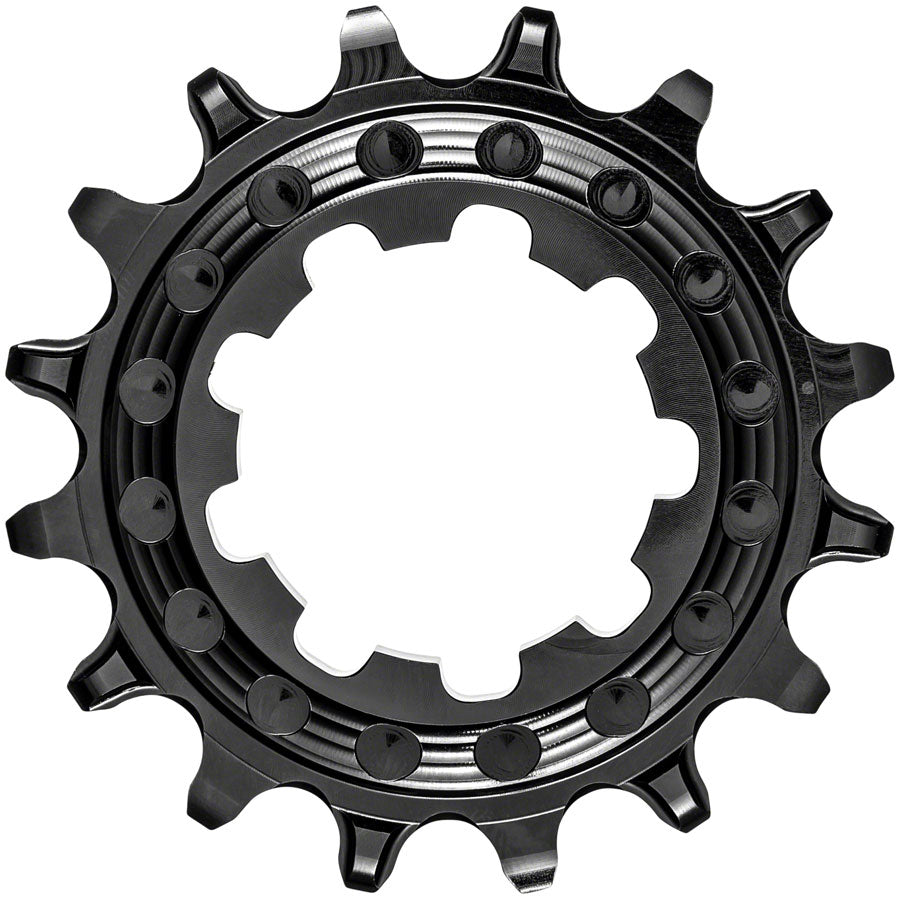 absoluteBLACK Single-Speed Cog - HG Spline, 16t, Black