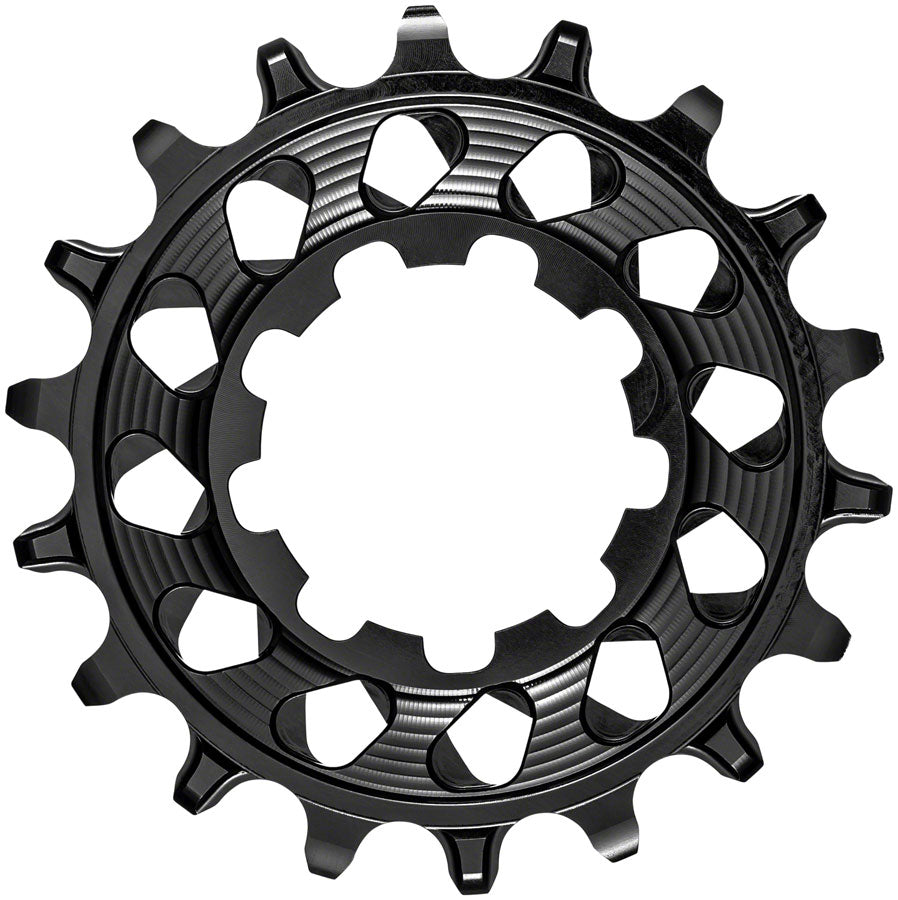 absoluteBLACK Single-Speed Cog - HG Spline, 18t, Black