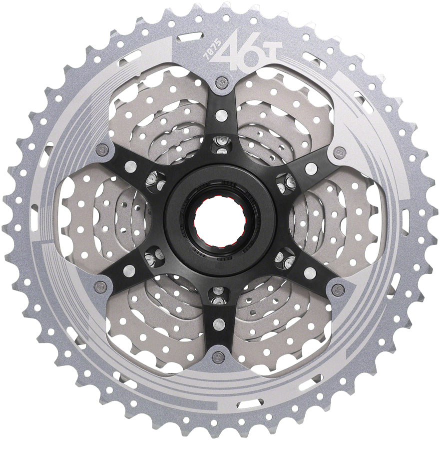 10-46t For XD Driver Body 11-Speed Metallic Silver SunRace CSMX9X Cassette
