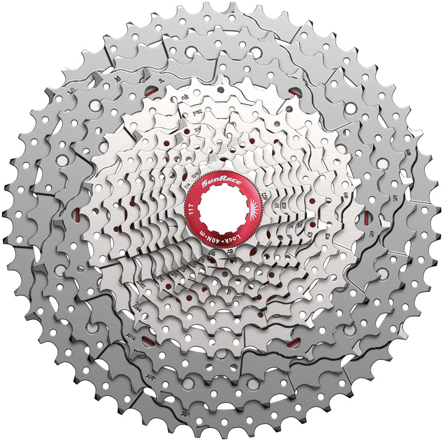 SunRace CSMZ903 Cassette - 12-Speed, 11-51t, Metallic Silver